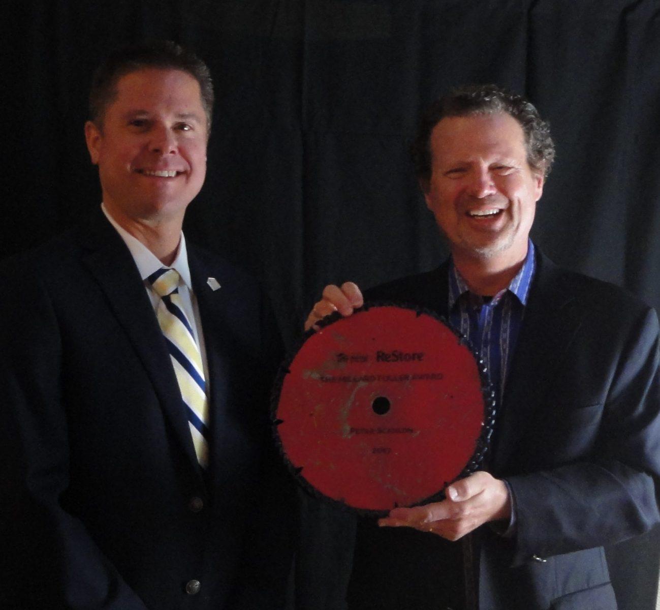 Millard Fuller Award – Peter Scanlon