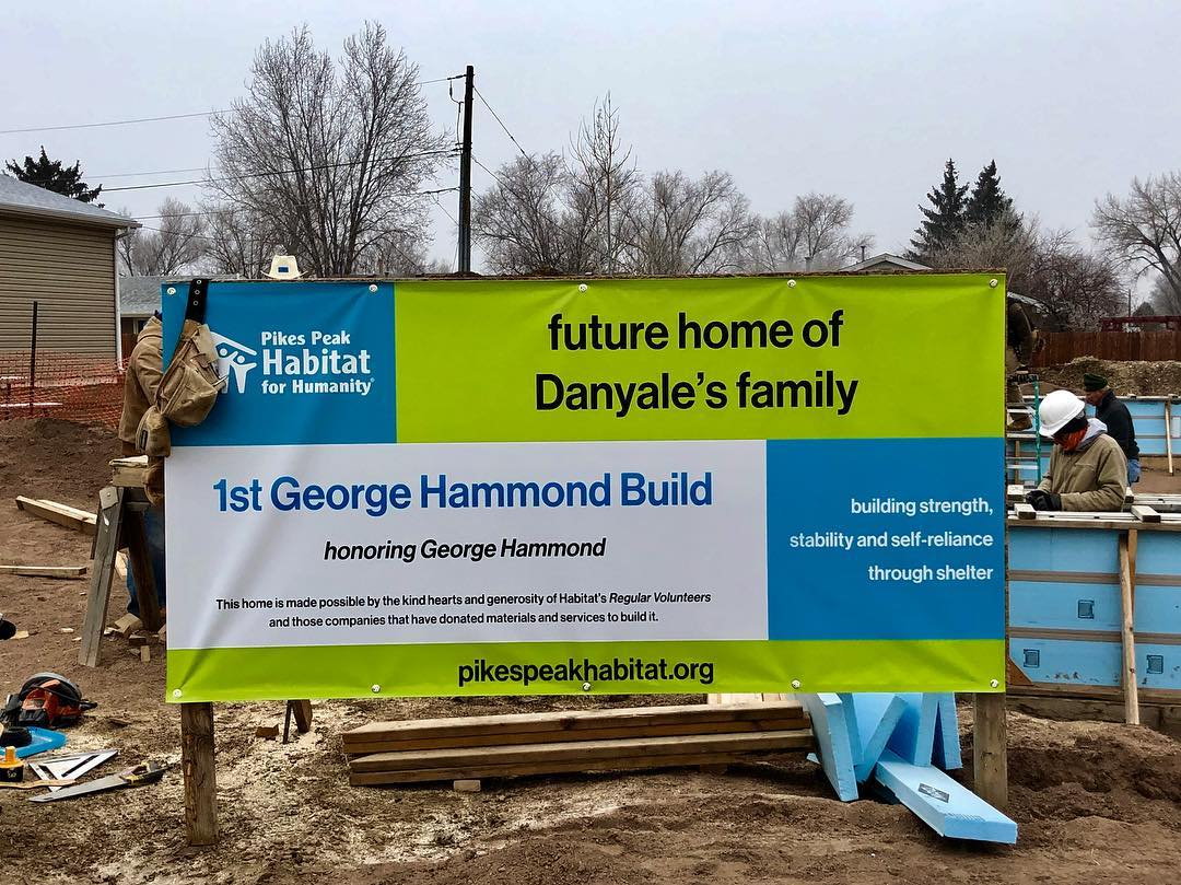 1st George Hammond Build banner