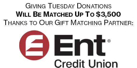 Gift Matching Donation- Ent Credit Union