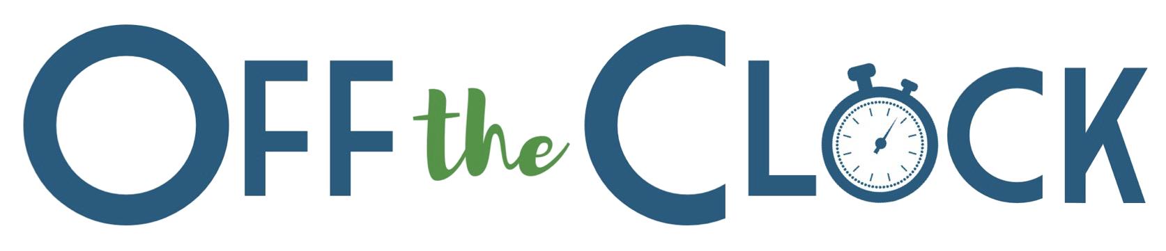 Off the Clock Logo- Transparent Background