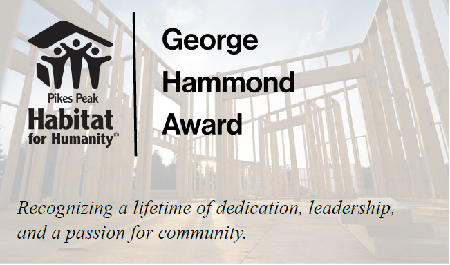 George Hammond Award