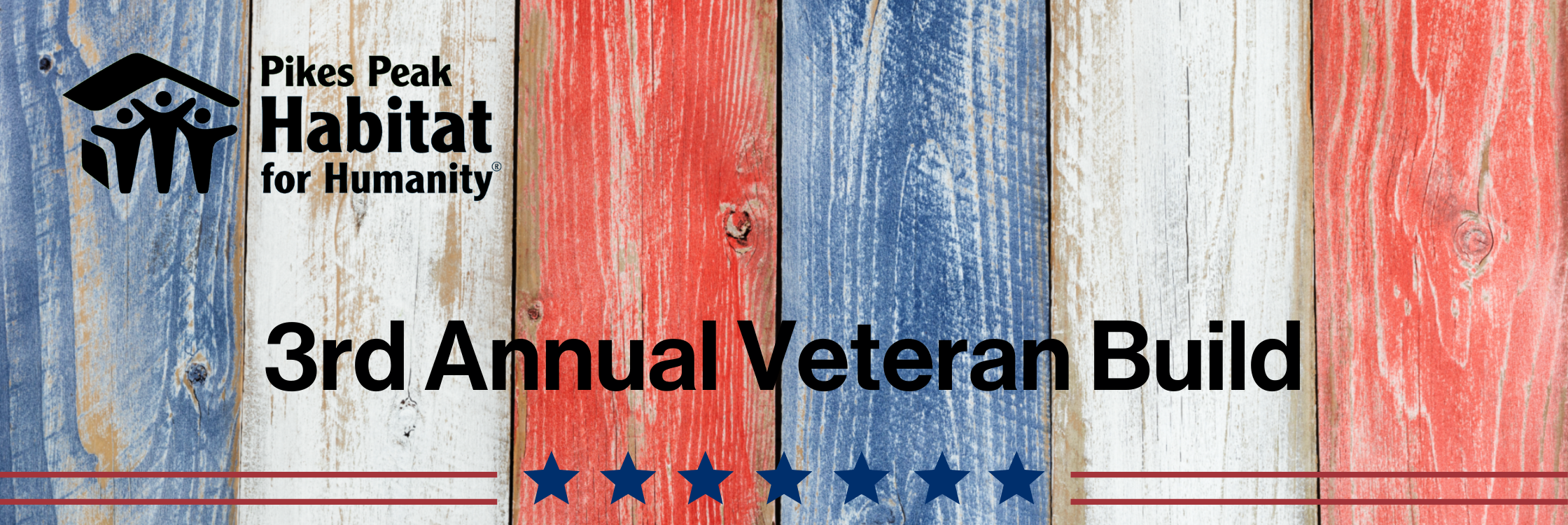 3rd Annual Veteran Build Web Banner