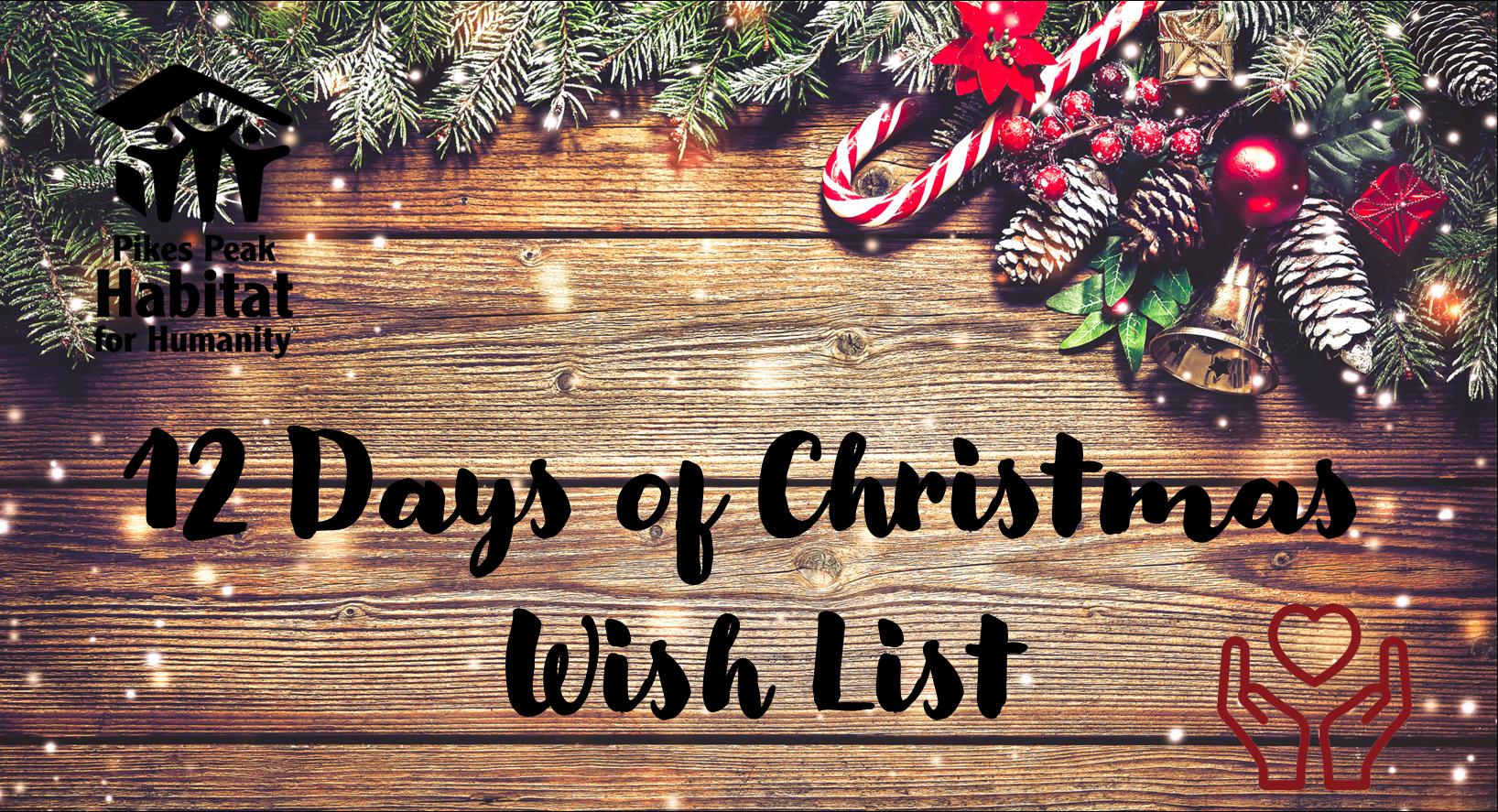 12 Days of Christmas Website Banner