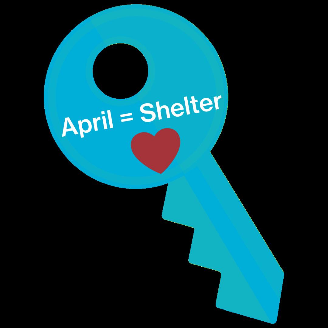 April = Shelter