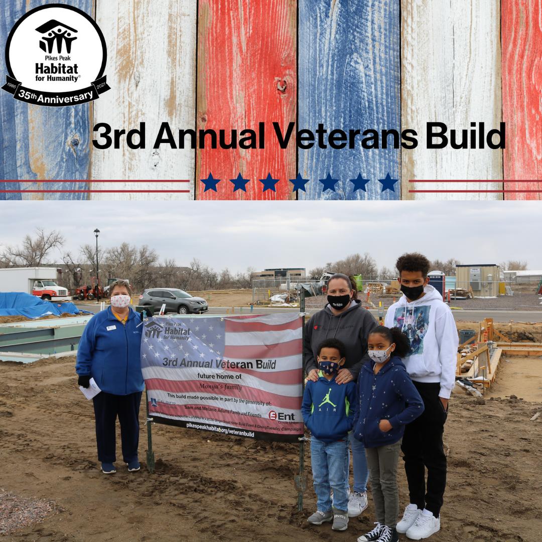 Monya's Family & 3rd Annual Veterans Build Banner for Website
