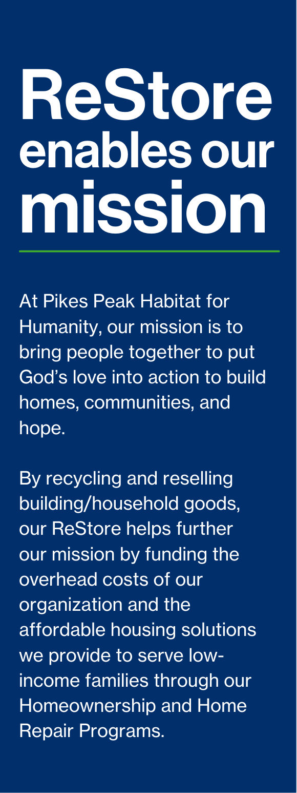 Join Us in Building the Story of Home with ReStore Page 2
